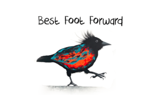 Best Foot Forward Bird Image